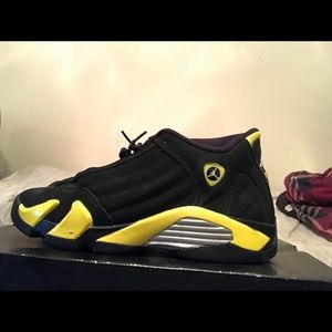 3b52a28b595ac2 Women s Air Jordan 14 Thunder on Poshmark